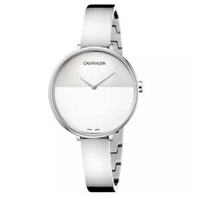 bb58c0f2c816 Reloj Calvin Klein Para Dama Rise K7a23146 Plateado Original