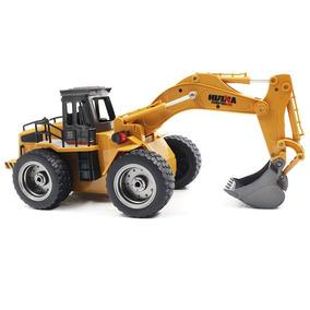 Escavadeira Rc Bulldozer Digger 1/18 6ch Controle Remoto
