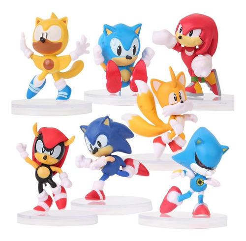 Sonic Boom Coleccion De Figuras Envio Gratis