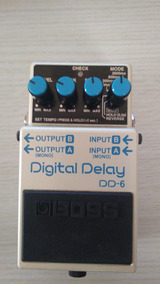 Pedal Boss Dd-6 Digital Delay
