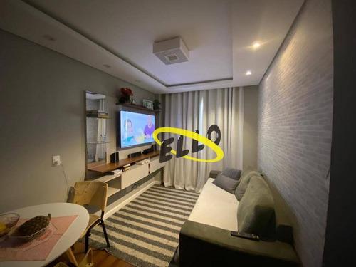 Excelente Apartamento Tipo Cobertura Com 3 Dormitórios À Venda, 72 M² Por R$ 244.000 - Jardim Ísis - Cotia/sp - Ap2078