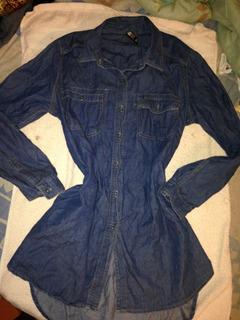 Blusas De Salir Para Mujer/dama De Jeans, Encaje, Chifon