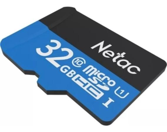 Cartão De Memória Netac 32 Gb Classe 10 Microsd Para Celular