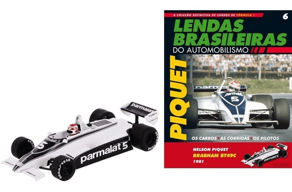 Nelson Piquet Brabham Ford Bt49c 1981 Germany Gp 1:43 Nº 6