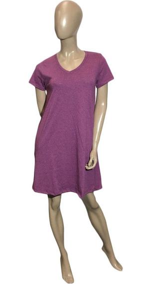 Vestido Corto (053) Manga Corta- Escote En V - En 5 Colores, Talle 1 Al 5. Somos Fabricantes.