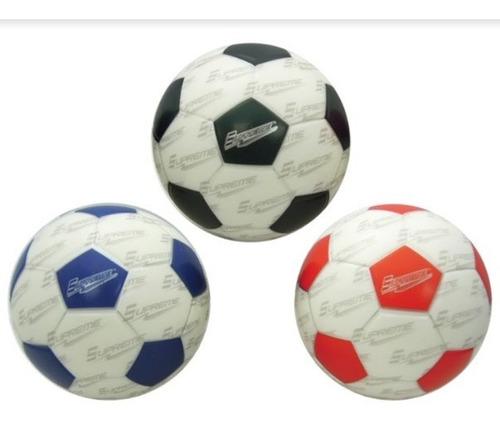 Pelota Soft Futbol Goma Espuma 13cm Tipo Macu Interior Full
