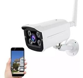 Câmera Ip Externa Hd Wifi Prova D