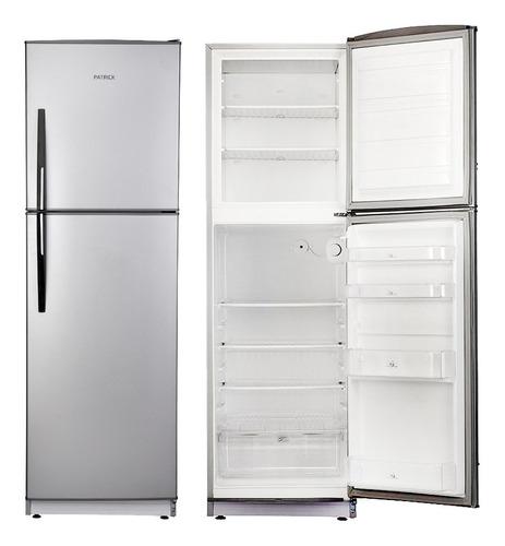 Imagen 1 de 10 de Heladera Con Freezer 299 Lts Patrick Hpk136s Silver Outlet