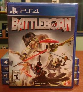 Battleborn Juego Ps4 Físico Sellado