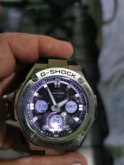 Relógio Casio G Shock Gst S110n~citizen Aqualand Solar Lindo