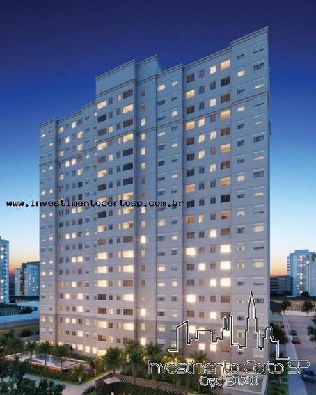 Apartamento Para Venda Em São Paulo, Mooca, 1 Dormitório, 1 Banheiro - Fit Casa Bras 26