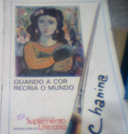 Suplemento Literário - Minas Gerais-chanina- 05-03-1988