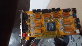 Placa De Captura Vtv Modelo Sky 6808i 32 Canais Real