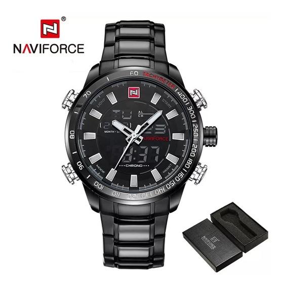Relógio Naviforce 9093 Promoção Mais Brinde