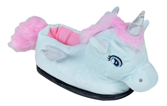 Pantuflas Unicornios Infantiles Niñas Moda Oferta Gummi