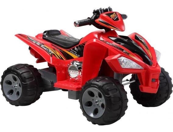 Quadriciclo Elétrico Infantil 12v Bel Fix Vermelho