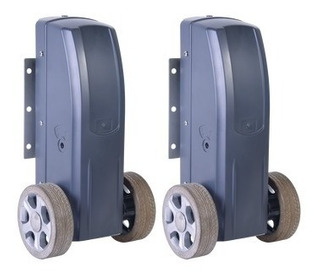 Kit Para Puertas Abatibles Con 2 Hojas / 10 Mts / 500kg /