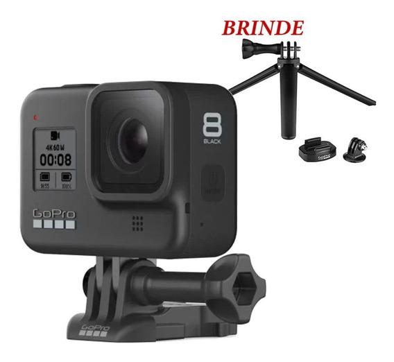Câmera Gopro 8 Black Edition + 1 Brinde - Tripe Original