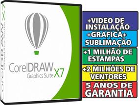Corel Draw X7- Original+unico 5 Anos De Garantia+brindes