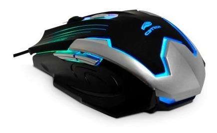 Mouse Gamer Led Colorido Mg-11 C3tech 6 Botões Usb 2400dpi