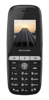 Multilaser Up Play Dual SIM 32 MB Preto 32 MB RAM