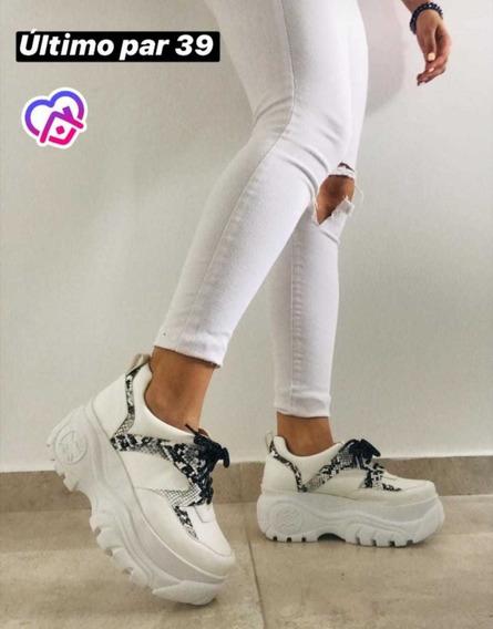 Zapatillas Mujer Urbanas . Somos Fabricantes . Modelo Reptil