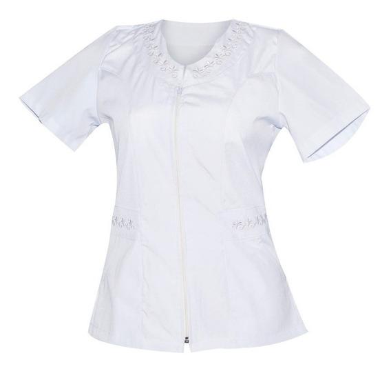Uniforme De Enfermeria Para Dama Con Cierre K06