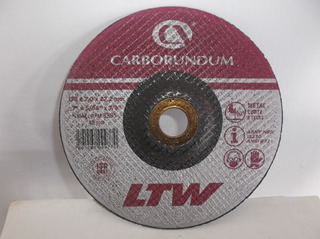 Disco De Corte Fino 7 X5/64x7/8 Carborundum De Metal 2.5$