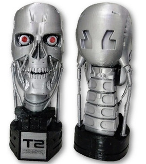Terminator T-800 Artesanal 100% Original 20.5cm Alto 1/12