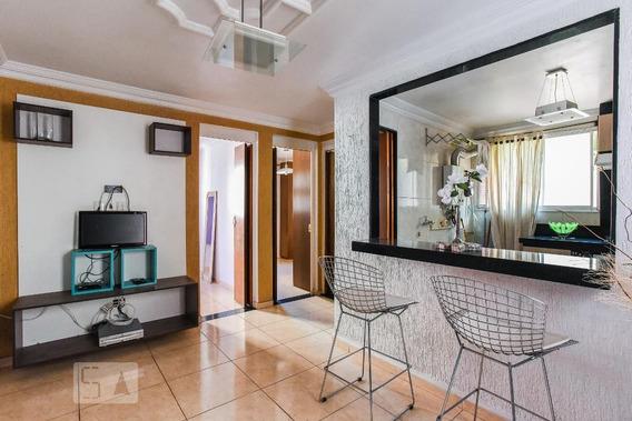 Apartamento No 1º Andar Mobiliado Com 2 Dormitórios E 1 Garagem - Id: 892944727 - 244727