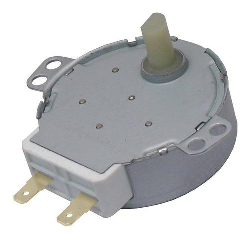 Imagem 1 de 1 de Motor Microondas 4w 5/6 Rpm Eixo Plastico 110 / 120 Volts