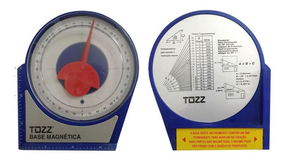 Inclinometro Base Magnetica Antena Parabolica Nivel Angular