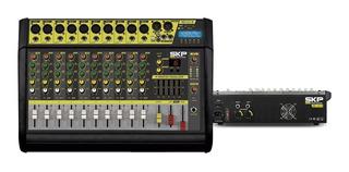 Consola Potenciada Skp Vz-100ll 10ch 2000w Amplificada