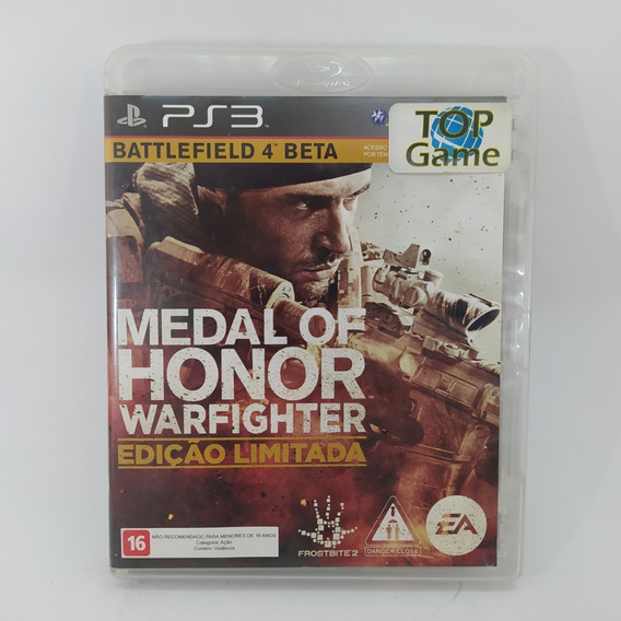 Medal Of Honor Ps3 Usado Mídia Física Edição Limitada