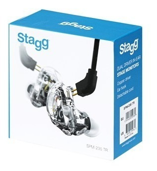 Fone Profissional In Ear Spm-235 High-resolution Stagg
