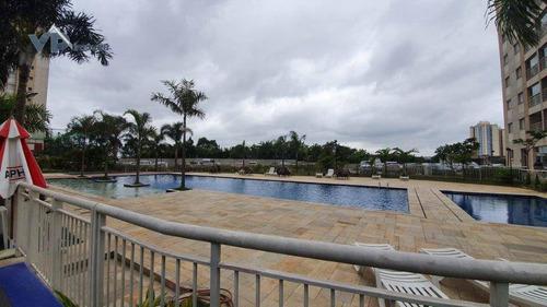 Apartamento Com 2 Dormitórios À Venda, 56 M² Por R$ 300.000,00 - Parque Taboão - Taboão Da Serra/sp - Ap0900