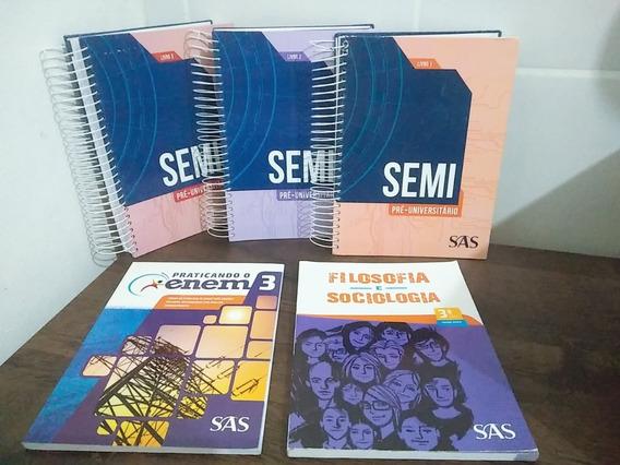 Kit Livros Sas Semi Pré-universitário Edição 2017