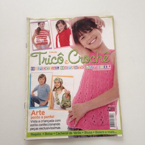 Revista Coleção Tricô E Crochê Especial Infanto-juvenil B088