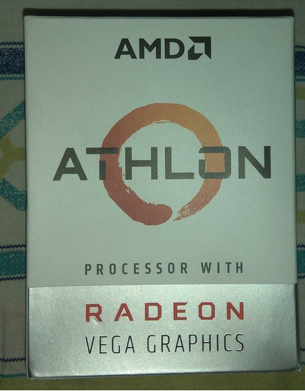 Processador Amd Athlon 200ge Am4 Dual Core 3.2ghz Cooler Box