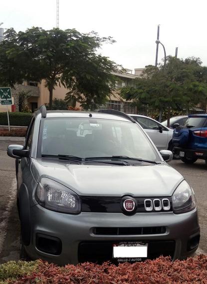 Fiat Uno Way 2016. Remato Por Viaje