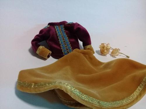 Imagen 1 de 4 de Ropa Para Barbie, Conjunto Estilo Cascanueces,disfraz Barbie
