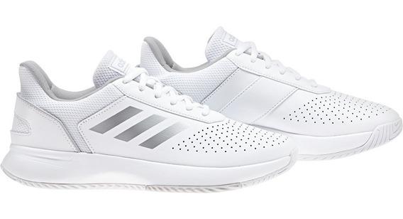 Zapatillas adidas Courtsmash Wns- Ftwbla/plamat/gr - F36262