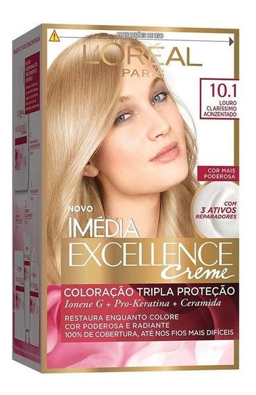 Coloração Imédia Excellence Creme - 10.1 Louro Clarissimo