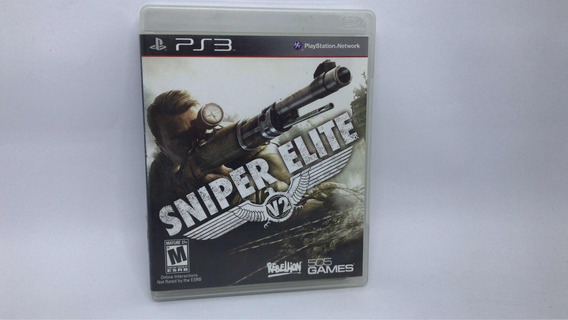 Sniper Elite V2 - Ps3 - Mídia Física Cd Original