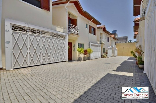 Casa A Venda Em Condomínio 3 Dormitórios - Jardim Monte Kemel - Ca0036