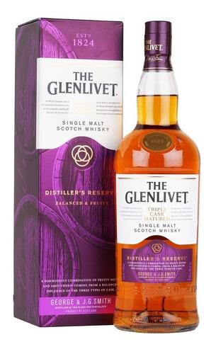 Imagen 1 de 7 de Whisky The Glenlivet Distillers Reserve 1000ml En Estuche