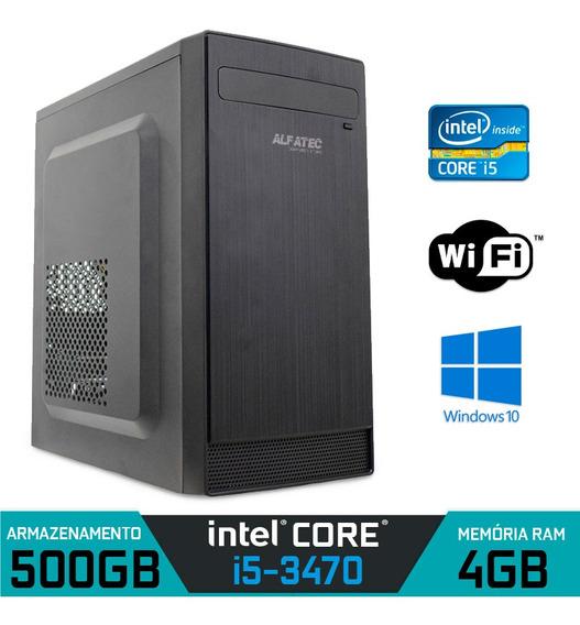 Computador Intel Core I5 3470 Ram 4gb Hd 500gb Windows 7