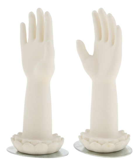 2 Unidades Maniquí De Mano De Niños Modelo De Exhibición