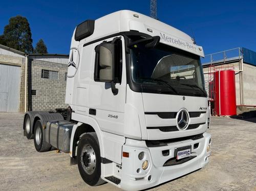 Imagem 1 de 14 de Mercedes-benz Actros 2546 Ls 6x2 2p (e5)