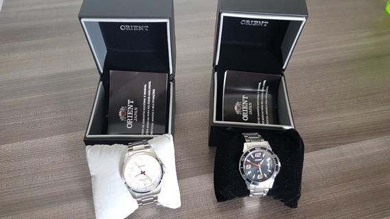2 Relógios Orient Masculinos